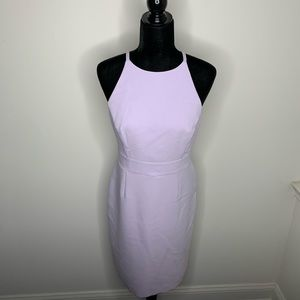 Banana Republic Lilac High-neck Dress Size 6
